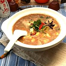 津味烩豆腐白菜