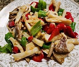 #做饭吧!亲爱的#  耗油猪肚菇的做法