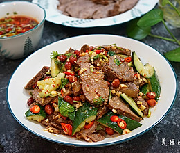干拌麻辣牛肉 ---附详细卤牛肉做法的做法