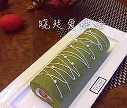 蛋糕卷第二课--抹茶草莓卷的做法