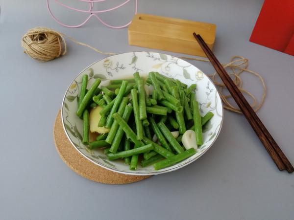 蒜香长豆的做法