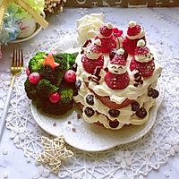 雪人蛋糕#安佳烘焙学院#