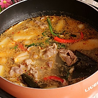 家庭涮羊肉火锅---利仁电火锅试用菜谱的做法图解10