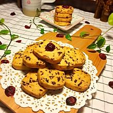 低糖无添加手工蔓越莓饼干