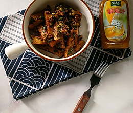#太太乐鲜鸡汁玩转健康快手菜#香辣土豆条的做法