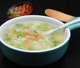 虾米干贝粥的做法