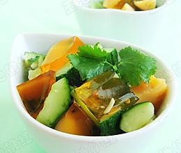 黄瓜拌皮蛋的做法