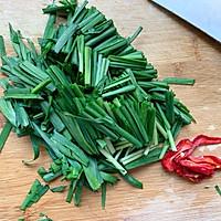 #秋天怎么吃#韭菜炒海螺肉的做法图解3
