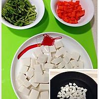 香椿烧豆腐的做法图解3