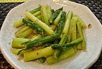 清炒芦笋的做法