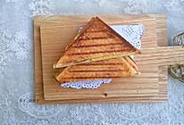 #肉食者联盟#肉松鸡蛋帕尼尼#麦子厨房早餐机#的做法