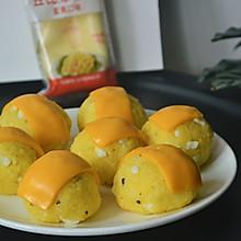 #一起土豆沙拉吧#双重芝士土豆沙拉饭团