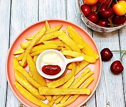 #夏日撩人滋味#自制薯条的做法