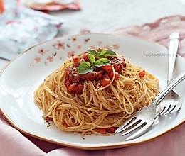 意大利胡萝卜肉酱面的做法