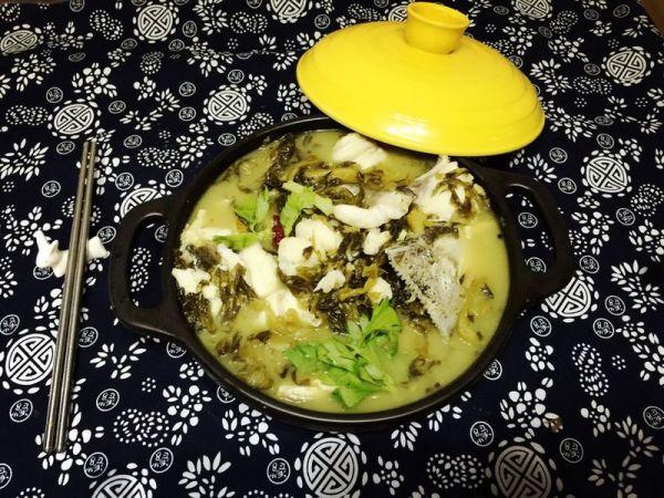 堪比川菜馆的美味酸菜鱼的做法