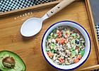 豆腐牛油果红椒软饭——宝宝主食系列的做法