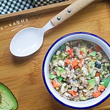 豆腐牛油果红椒软饭——宝宝主食系列