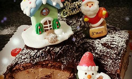 树根蛋糕(圣诞节必备~)的做法