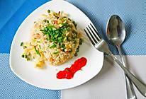 培根豌豆蛋炒饭#厨此之外,锦享美味#的做法