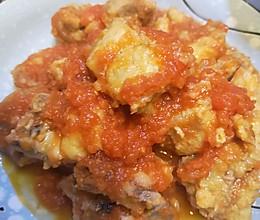 酸酸甜甜!开胃番茄排骨的做法