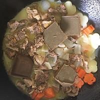小熊泡澡咖喱牛腩饭#咖喱萌太奇#的做法图解8