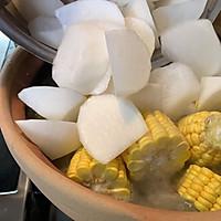 萝卜玉米排骨汤的做法图解11