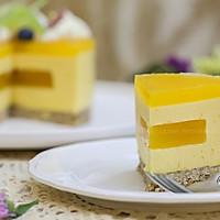 百香果南瓜慕斯生日蛋糕(百香果果冻夹层)的做法图解25