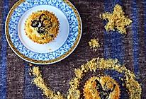 金顶蓝莓马芬#不思烤就很好#老板R015烤箱试用的做法