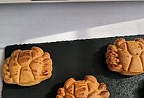 金沙奶黄螃蟹月饼的做法