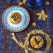金顶蓝莓马芬#不思烤就很好#老板R015烤箱试用