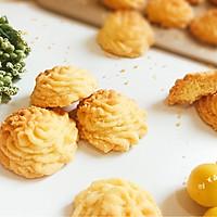 酥到掉渣的黄油曲奇饼干 网红菊花挤花款#相约MOF#的做法图解25