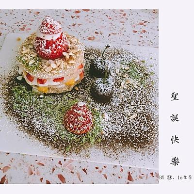 圣诞迷你蛋糕(简单版)
