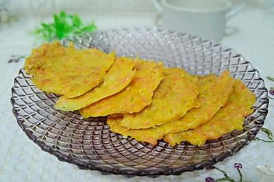 南瓜胡萝卜猪肝饼(防贫血)