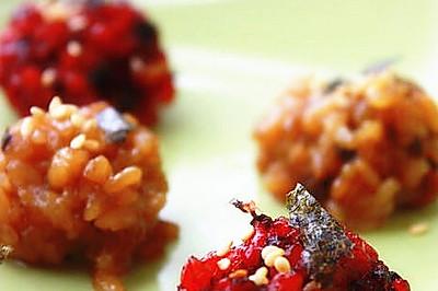 粽子创意吃法--粽子变糯米小丸子