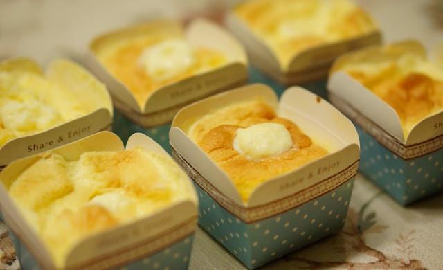 北海道戚风蛋糕(6个)