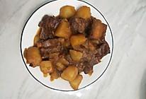 红烧土豆炖排骨的做法