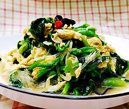 #餐桌上的春日限定#健康终结版菠菜炒鸡蛋的做法