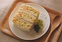 土豆沙拉三明治#换着花样吃早餐#的做法