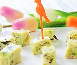龙利鱼蔬菜饼 宝宝辅食,西兰花,香菇,鲜百合的做法