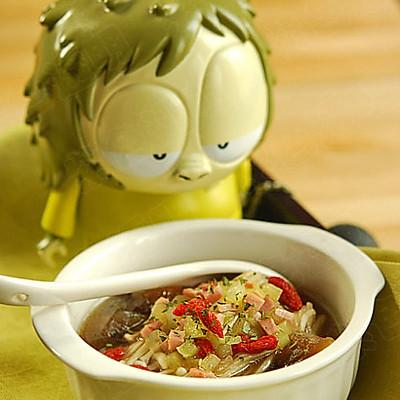 上汤蚝汁金针菇