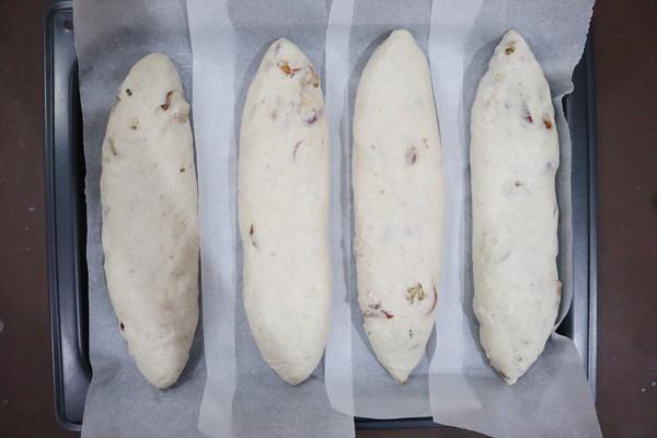 长帝蒸烤箱食谱-核桃红枣乳酪欧包的做法图解10