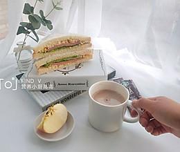 早餐三明治的做法