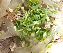 芦荟煮猪肉碎的做法