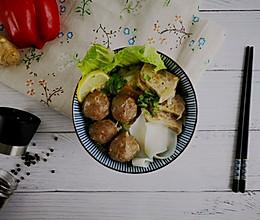 日常必备牛肉丸粿条汤的做法