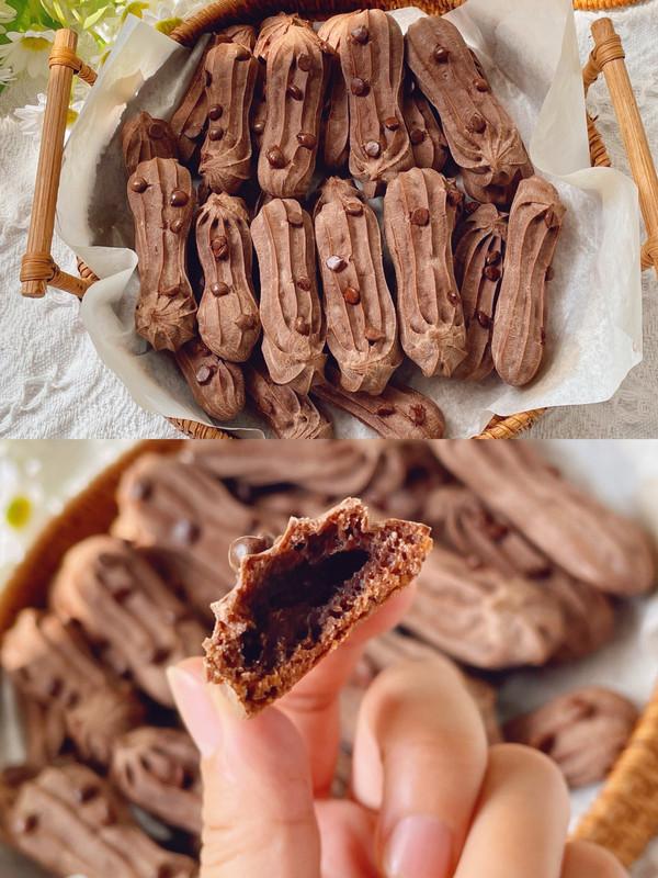 零失败!一次成功的可可巧克力手指麻薯
