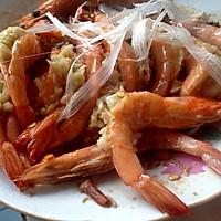 蒜蓉开背虾的做法图解6