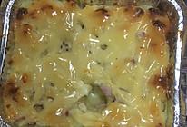焗薯蓉的做法