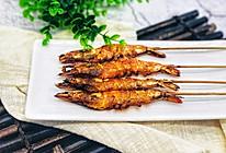 烤串串虾的做法