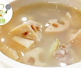 冬天来口花生莲藕炖猪骨汤,润肺养胃又降火!--威厨艺的做法