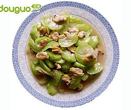 丝瓜炒花蛤的做法